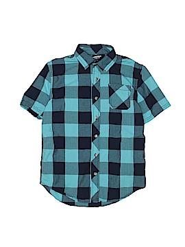 Arizona Jean Company Short Sleeve Button-Down Shirt Size 10/12