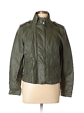 Hive & Honey Faux Leather Jacket Size XL