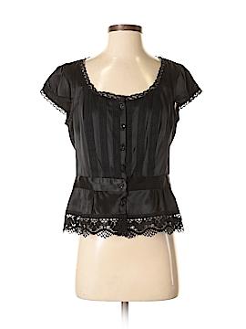 Nanette Lepore Sleeveless Silk Top Size 8