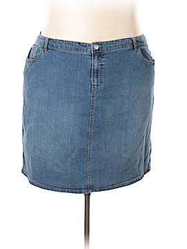 Jaclyn Smith Denim Skirt Size 24w (Plus)