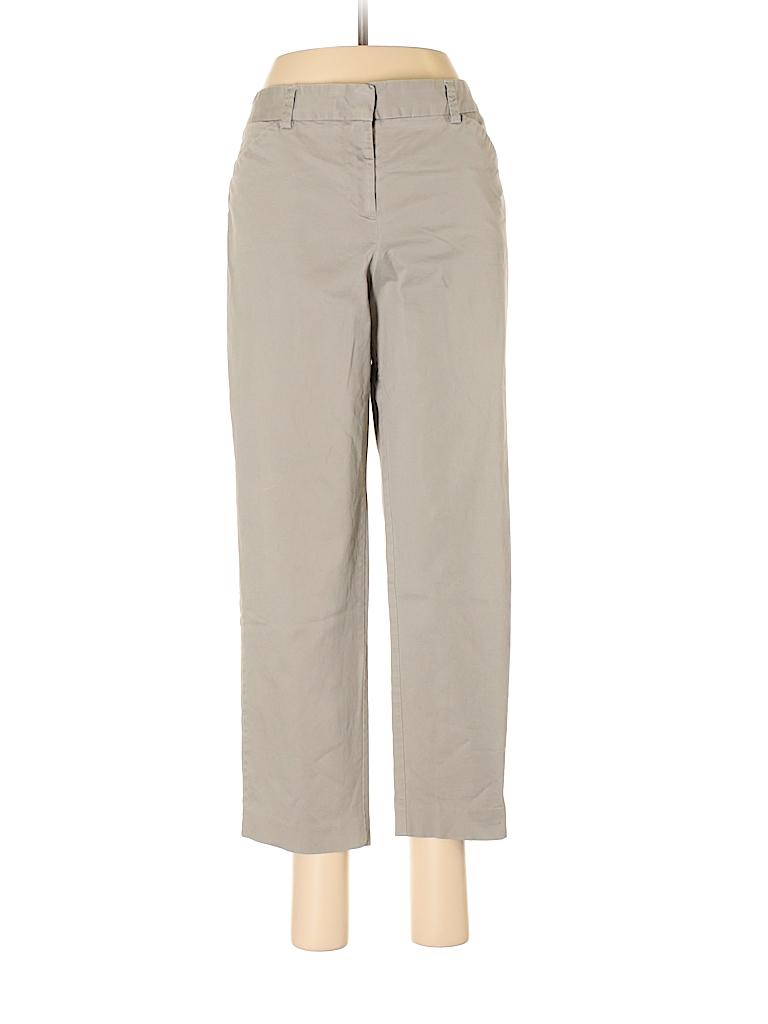 Lands' End Canvas Women Khakis Size 8