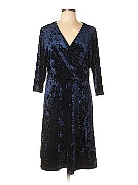 Pennington's Casual Dress Size 0X (Plus)