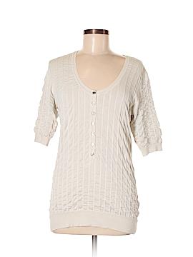 Burberry Short Sleeve Silk Top Size XL