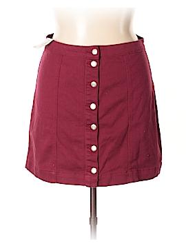 Boohoo Boutique Denim Skirt Size 14