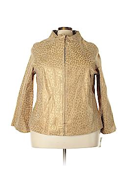 LAL Live A Little Leather Jacket Size 2X (Plus)