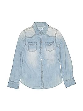 Mudd Long Sleeve Button-Down Shirt Size 14