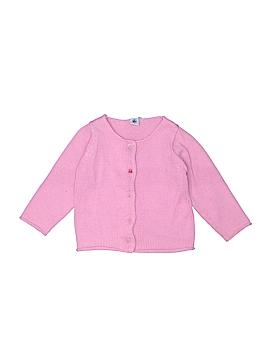 Petit Bateau Wool Cardigan Size 3