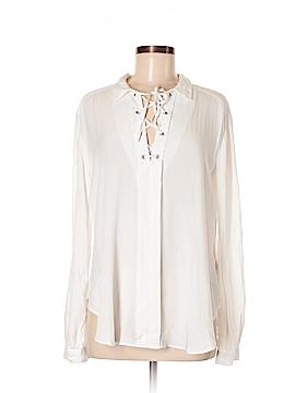 Saks Fifth Avenue Long Sleeve Blouse Size M
