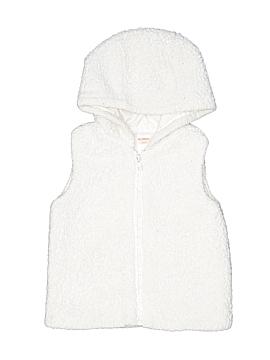 Gymboree Faux Fur Vest Size 4T - 5T