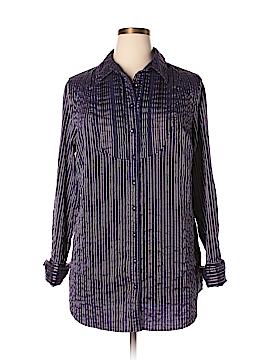 Covington Long Sleeve Button-Down Shirt Size 16-18