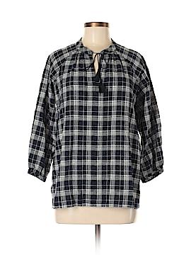 Madewell 3/4 Sleeve Blouse Size S