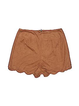 Monteau Faux Leather Shorts Size XS