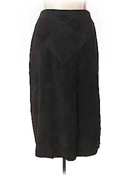 Jessica Holbrook Leather Skirt Size 22W (Plus)