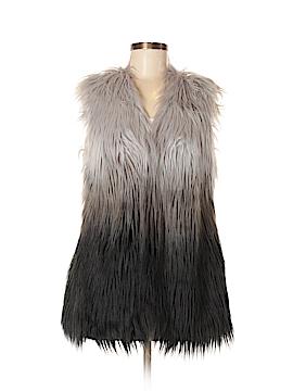 Tokyo Darling Faux Fur Vest Size S