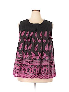 Take Two Clothing Co. Sleeveless Blouse Size XL