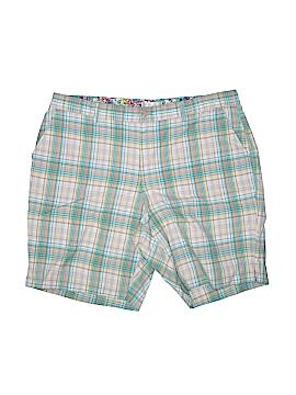 Cj Banks Khaki Shorts Size 18 (Plus)