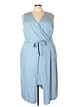 Modamix By Brandon Thomas Casual Dress Size 24W (Plus)