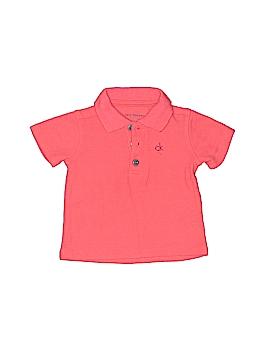 CALVIN KLEIN JEANS Short Sleeve Polo Size 12 mo