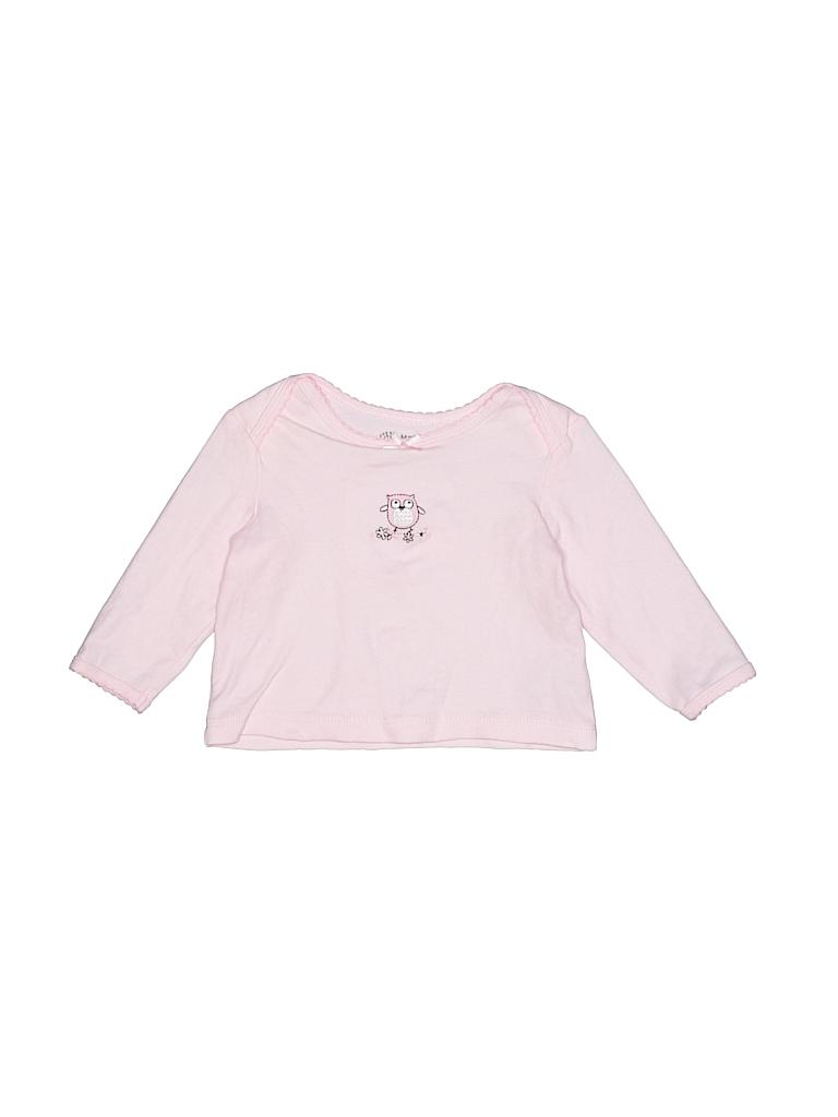 Little Me Girls Long Sleeve T-Shirt Size 9 mo