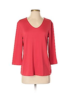 Susan Graver 3/4 Sleeve Top Size S
