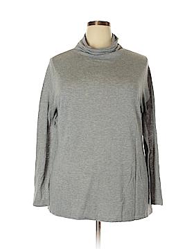 Relativity Turtleneck Sweater Size 3X (Plus)