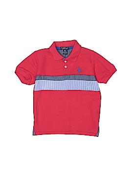 U.S. Polo Assn. Short Sleeve Polo Size 4T