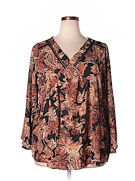 Avenue Long Sleeve Blouse Size 18 - 20 Plus (Plus)