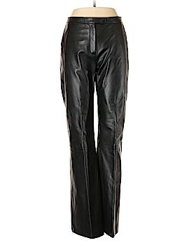 Margaret M Leather Pants Size 10