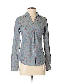 Delia Long Sleeve Button-Down Shirt Size XS