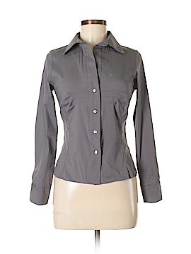 FIGL Long Sleeve Button-Down Shirt Size M