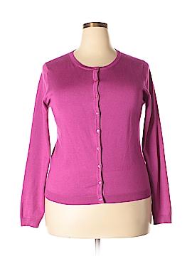 Joan Vass New York Cardigan Size XL