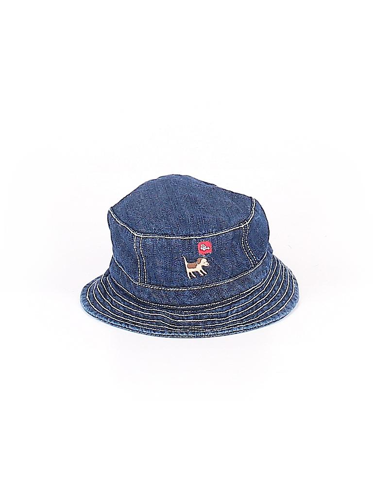 Gymboree Outlet 100% Cotton Graphic Dark Blue Bucket Hat Size 3-6 mo ... 372e58470b9