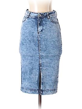 New Look Denim Skirt Size 4
