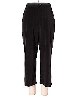 J.jill Velour Pants Size L (Petite)