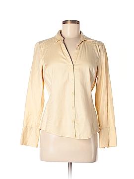 Ann Taylor Factory Long Sleeve Button-Down Shirt Size 8 (Petite)