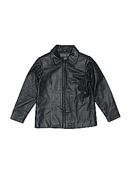 Copper Key Leather Jacket Size M (Kids)