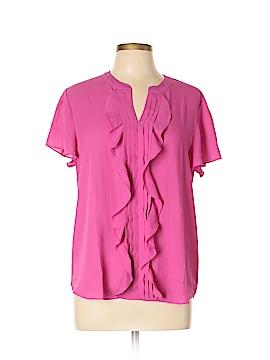 Banana Republic Factory Store Short Sleeve Blouse Size L (Petite)