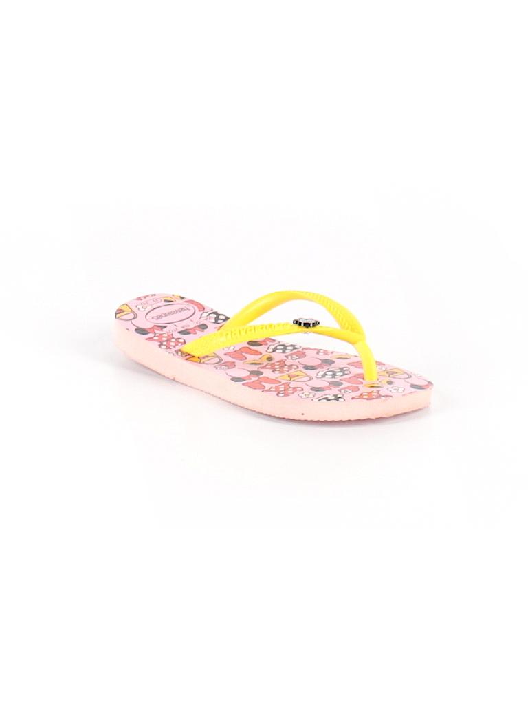 1d603b008039ec Havaianas Graphic Yellow Flip Flops Size 10 - 76% off