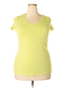 Cynthia Rowley for Marshalls Short Sleeve T-Shirt Size 1X (Plus)