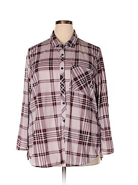 Rue21 Long Sleeve Blouse Size 2X (Plus)