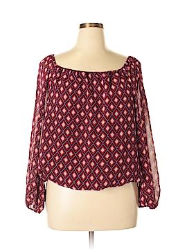 Josephine Studio Long Sleeve Blouse Size XL