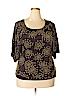 Ted Baker London Women Short Sleeve Top Size 6 (2)