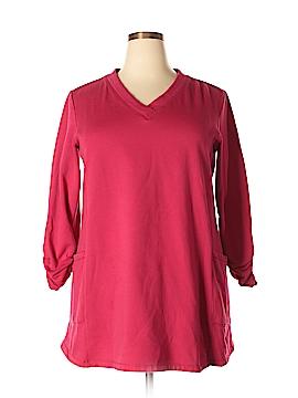 Susan Graver Sweatshirt Size XL