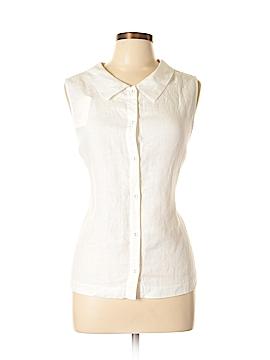 Boden Sleeveless Button-Down Shirt Size 12
