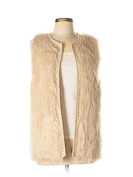 Love on a Hanger Faux Fur Vest Size L