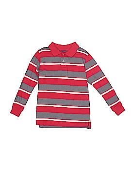 Faded Glory Long Sleeve Polo Size M (Kids)