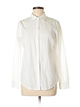 Charter Club Long Sleeve Button-Down Shirt Size 4