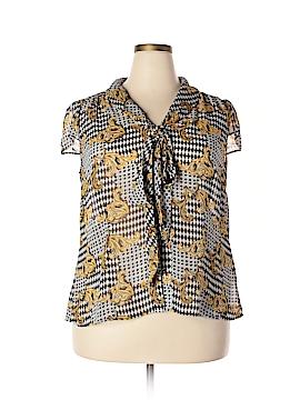 Tahari Short Sleeve Blouse Size 1X (Plus)