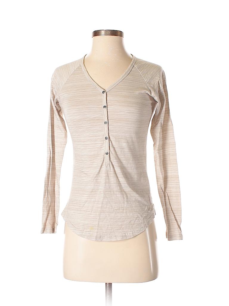 Kuhl Women Long Sleeve Henley Size XS