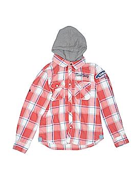 H&M L.O.G.G. Long Sleeve Button-Down Shirt Size 7-8